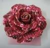 beautiful fabric flower hair clip hair ornament