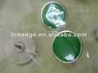 lapel pin badge, name badge, metallic glaze badge,