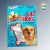Laminated self stand dog food packaging bag with zipper top
