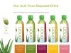 COCO Exposed pure coconut water+real aloe vera