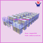 mezzanine floor, medium duty rack