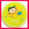 fashion pvc cup coaster