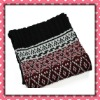 2012 Unisex design Acrylic Soft&Thick feel Knitted Neckwarmer