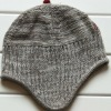 Custom knitted beanie hat