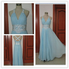 Free Shipping New design Halter evening Gown 2013