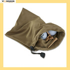 Ultra soft Microfiber Suede drawstring Golf Accessory Bag(YXBCP-1110920)