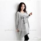 2013 Alibaba China Free Shipping Women Fashion Printed Blouse