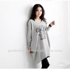 2013 Alibaba China Free Shipping Women Fashion Printed Blouse