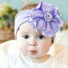 Fashion purple piping flower baby hat-wedding supply-wedding favor