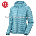 women's hooded down jacket ST202