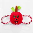 Hot seling !fruit series plush pet toys