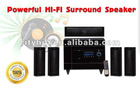 Cheapest Multimedia 5.1 active surround HIFI AM/FM speaker with DVD player on sale