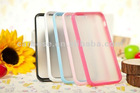 2012 newest OEM low price TPU PC case for iphone 5
