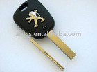 Auto remote key for Peugeot (flat)