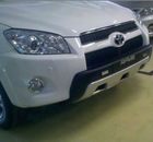 Chrome auto accessories front bumper for TOYOTA RAV4 2012