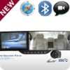 "Newest 5"" rearview mirror car dvr with gps and bluetooth"