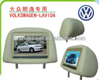 7 Inches Headrest Car LCD Monitor with Pillow for VOLKSWAGEN PASSAT