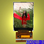 2.4 inch sunlight readable TFT LCD screen module for outdoor use with full viewing angle