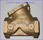 Brass C87600 Valve Body