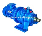 Horizontal mounting cycloidal drive speed reducer with motor