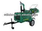 Diesel Engine Wood Chipper With CE Approved