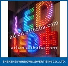outdoor LED letter sign