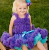 Adorable multi colour party pettiskirt for girl