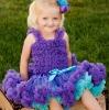 Adorable multi colour party pettiskirt for girl