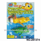 New 2IN1 Wind up swimming toys,Candy toys