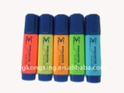 Fluorescent marker plastic color pen