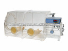 plastic Glove Box system with pressure control system ,provide a clear view