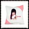 sublimation pillow-square pink angle /sublimation pillow