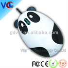 hot selling usb panda shaped mouse with good quality for promo, fcc, ce standard