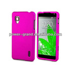 Hard rubberized protector cover for LG LS970 Optimus G Eclipse 4G LTE, many colors, OEM design, accept Paypal