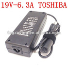 for TOSHIBA 19V 6.3A 120W PA3290U-2ACA API3AD01 AC ADAPTER