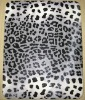 hard case for ipad with design Leopard grain