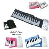 roll up flexible Piano Musical Toys/ Kids Piano Keyboard / Toy Piano