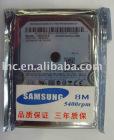 250GB SATA 2.5' harddrive for laptops
