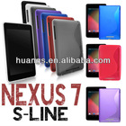 "SHOCK PROOF S LINE SILICONE CASE FOR ASUS 7"" INCH GOOGLE NEXUS ANDROID COVER"