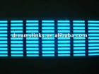 New EL Car Stickers Sound music Activated / equalizer glow light