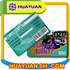 plastic printing barcode card with signature panel