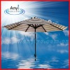 Polyester beach sun umbrellas with sunproof