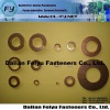 environmental brass washer, brass spring washer
