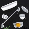 Modern Chaozhou 6pcs modern square ceramic bathroom sets