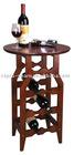4 tiers wooden wine table