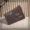 irregular shape cutting leather label