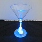 New popular led glass cup as christmas gift