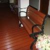 wpc garden bench