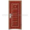 PVC surface steel door YF-SP06