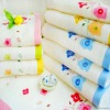 100% bamboo fiber bath towels